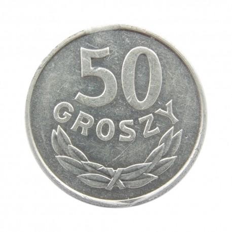 DESTRUKT 50 groszy 1986, stan 2-