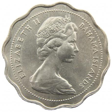 Bahamy 10 centów, 1969, stan 1-