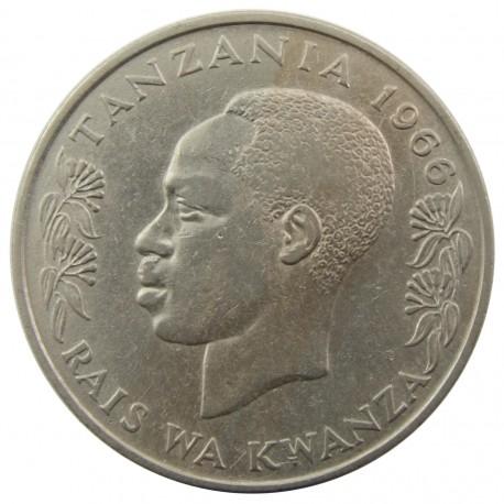 Tanzania 1 szyling, 1966