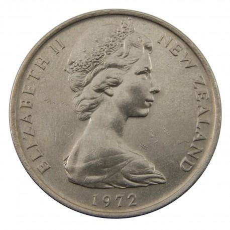 Nowa Zelandia 10 centów, 1972