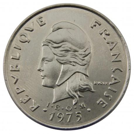 Polinezja Francuska 20 franków, 1975