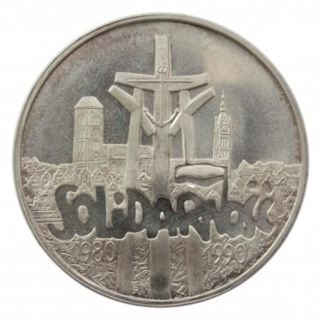 100000zł Solidarność 1990, stan 1-