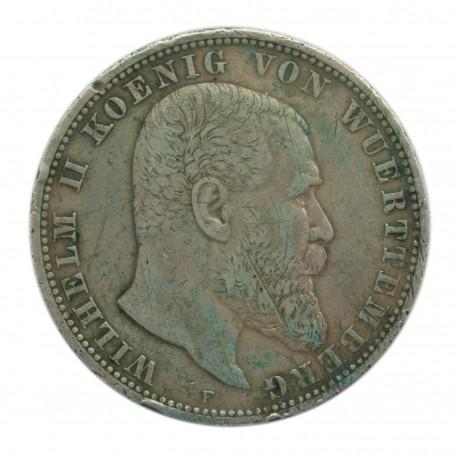 5 MAREK 1907 F - NIEMCY- WIRTEMBERGIA WILHELM II