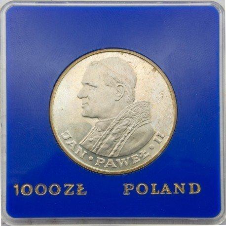 1000 zł Jan Paweł II, PRL 1983, klipa