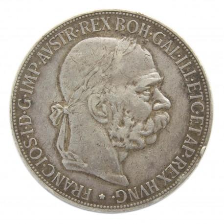 Austria, 5 koron 1900, Franciszek Józef I, stan 2-