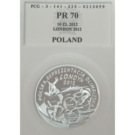 10 zł, Polska Reprezentacja Olimpijska Londyn 2012, PR70