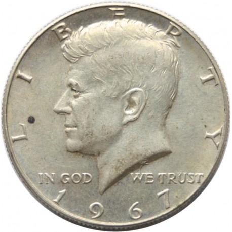 1/2 dolara, - 1964 - Kennedy - USA, b ładny