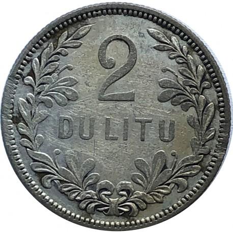 Litwa, 2 lity 1925, stan 3