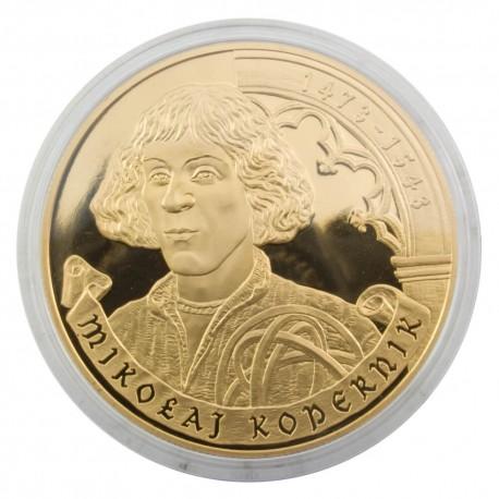 Medal okolicznościowe Mikołaj Kopernik - platerowany