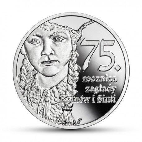 10 zł 75. rocznica zagłady Romów i Sinti