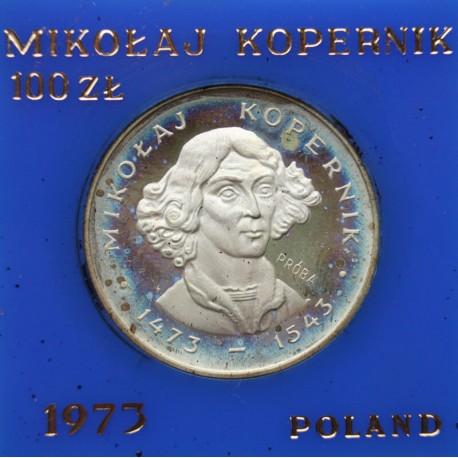 100 zł Mikołaj Kopernik 1973 - próba