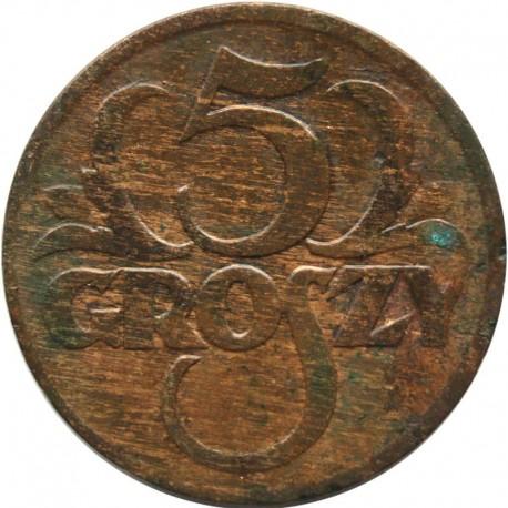 5 groszy 1928, stan 2-