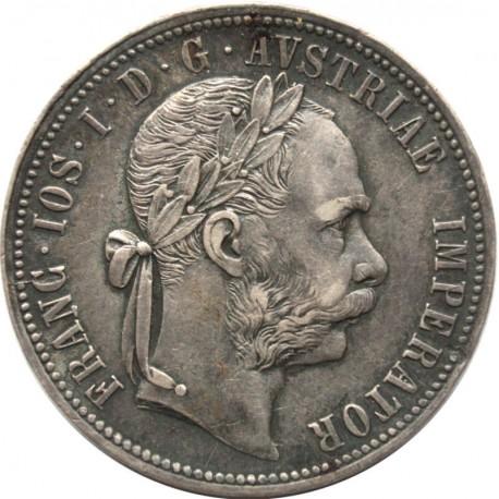 Austria, 1 floren 1879, stan 2+