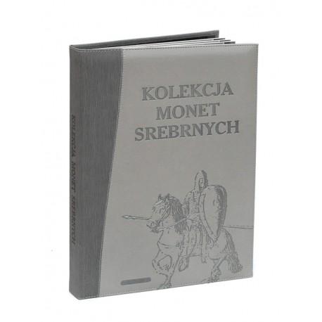 Album na 96 monet srebrnych 10 złotowych, EXCLUSIVE - SKÓRA