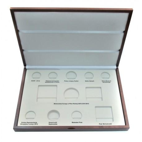 Kaseta do przechowywania monet srebrnych z roku 2012