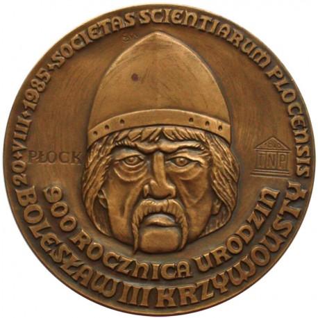 Medal Bolesław III Krzywousty 1085 - 1138, brąz