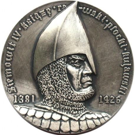 Medal Siemowit IV, Andrzej z Kutna - przywilej targowy