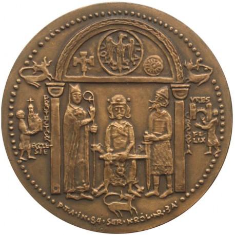 Medal Kazimierz II Sprawiedliwy PTAiN 1984