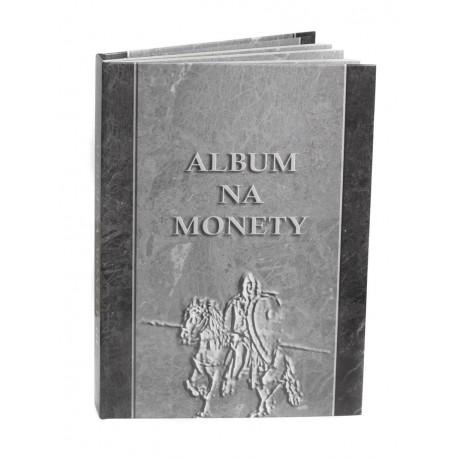 Album na 40 monet srebrnych w klipie NBP, twarda oprawa
