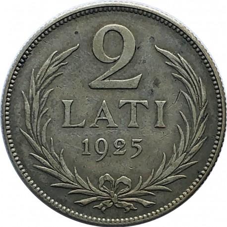Łotwa, 2 Lati 1925, stan 3