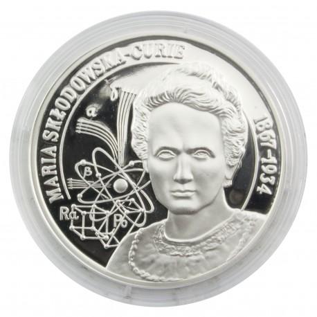Wielcy Polacy - medal Maria Skłodowska-Curie
