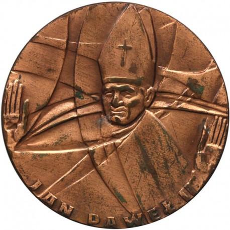 Medal Jan Paweł II - Kraków, Nowa Huta, Łódź, Piotrowa