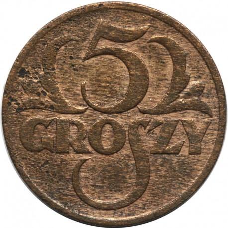 5 groszy 1928, stan 2