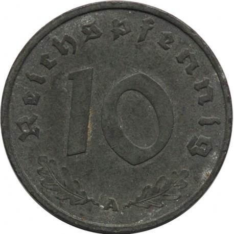 Niemcy 10 Pfennig 1942 A