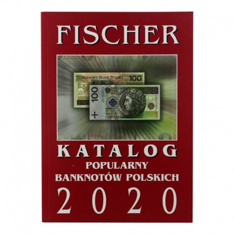 Katalog popularnych banknotów polskich Fischer 2020