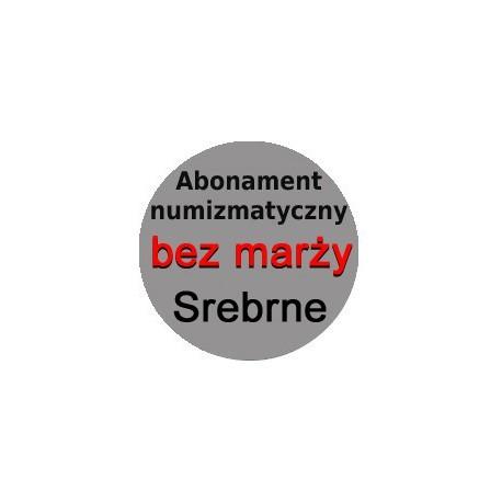 Abonament numizmatyczny 2020 bez marży: monety srebrne + 5 zł