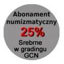 Abonament numizmatyczny 2021 na monety srebrne w gradingu PR70