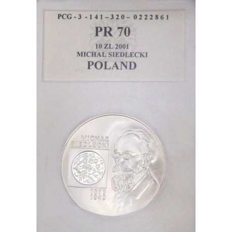 10 zł, Michał Siedlecki, PR70