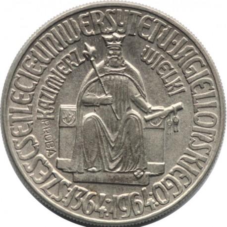 10 złotych Kazimierz Wielki próba 1964, stan 1