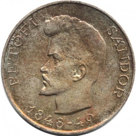 Węgry 5 forintów 1948, srebro, stan 3