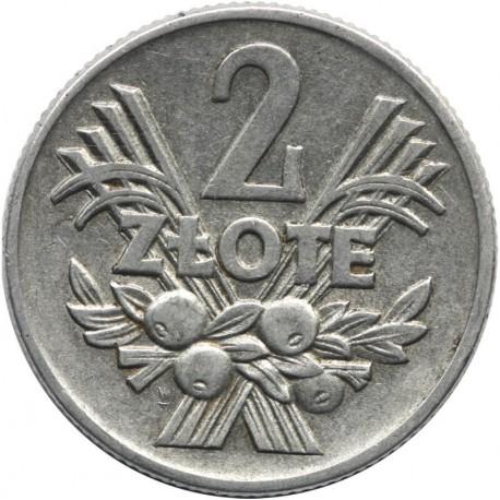 2 zł Jagody, 1958, stan 2