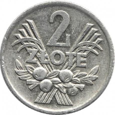 2 zł Jagody, 1974, stan 2+
