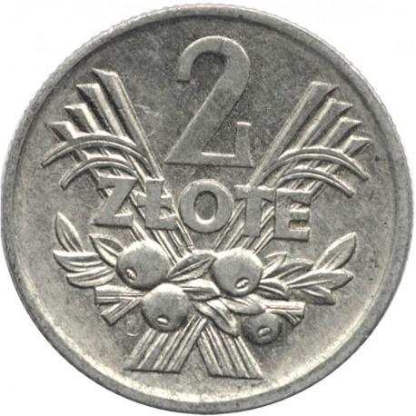 2 zł Jagódki, 1974, stan 2+