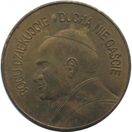 Medal Jan Paweł II - czwarta pielgrzymka do ojczyzny