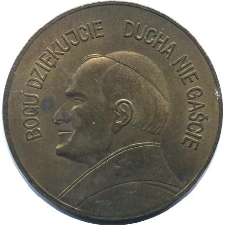 Medal Jan Paweł II - IV pielgrzymka do ojczyzny