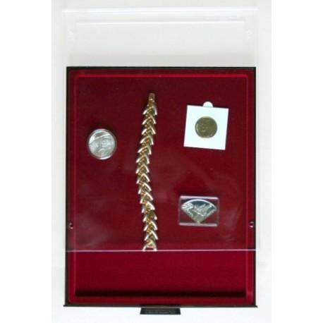 Kaseta do przechowywania nietypowych monet firmy Leuchtturm