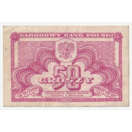50 groszy 1944 stan 3