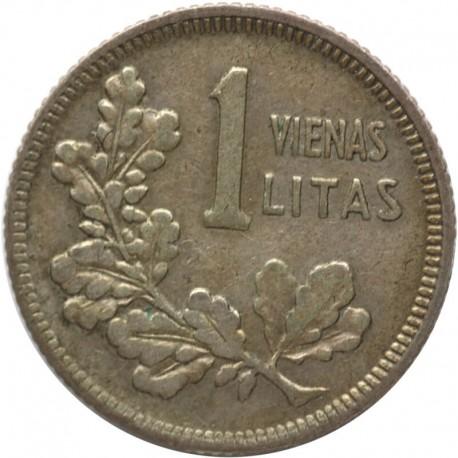 1 lit 1925, 1 litas, Litwa, 1925, stan 3