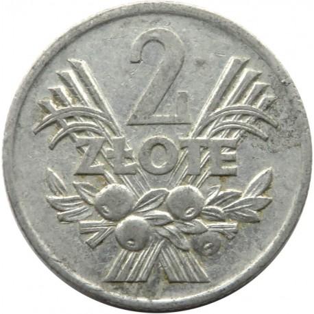 2 złote Jagody, 1970, stan 3+