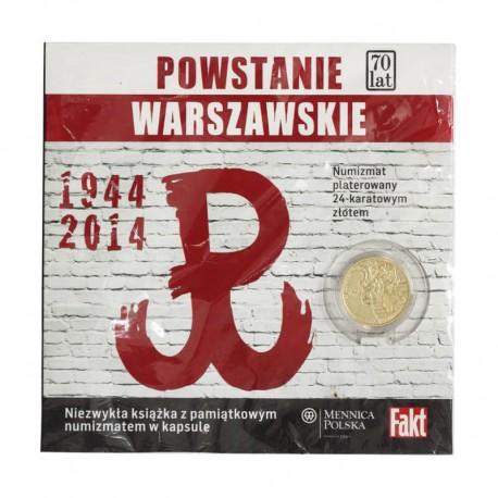 Numizmat - 70 lat Powstania Warszawskiego