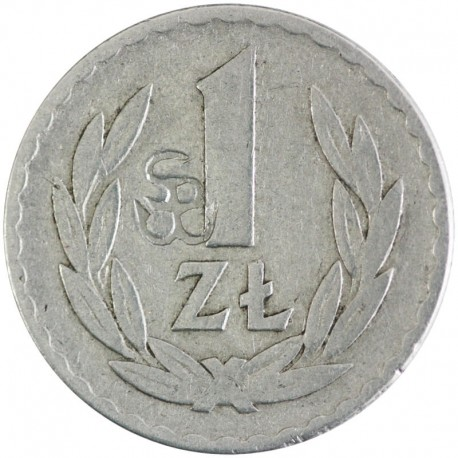 1 złoty 1949 ze znakiem Solidarności Walczącej