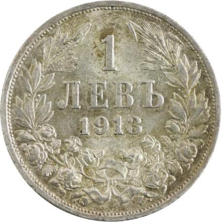 Bułgaria 1 lew, 1913, stan 2-