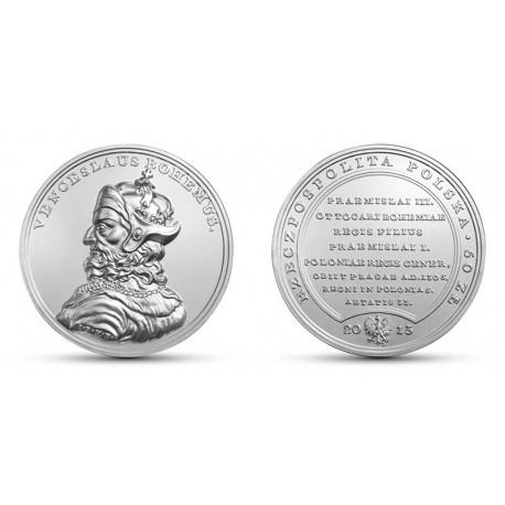 50 zł, Skarby Stanisława Augusta - Wacław II Czeski