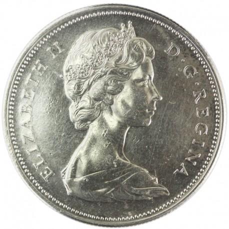 KANADA 1 DOLLAR 1967 GĘŚ, stan 2