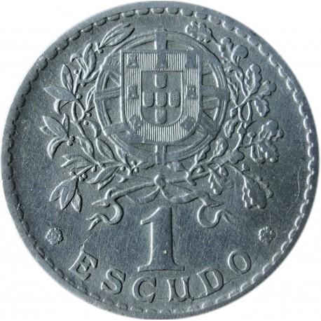 Portugalia 1 escudo, 1927, stan 3+