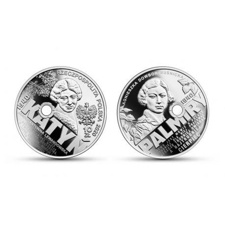10 zł Katyń – Palmiry 1940